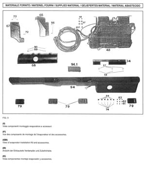 Download installation manual PDF for Land Rover Defender AC interior kit TD5 engine compartment kit