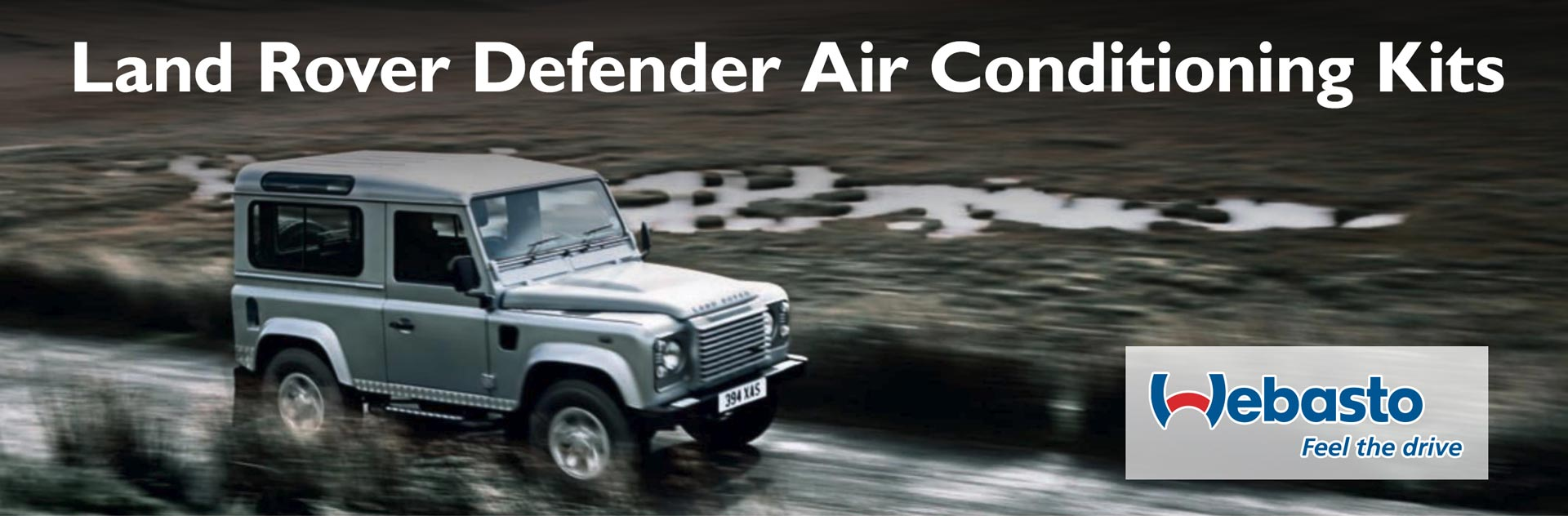 Land Rover Defender air conditioning kits