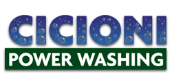 Cicioni power washing logo