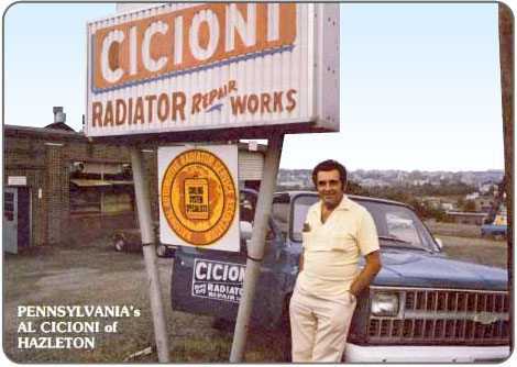 Our founder Albert Cicioni.